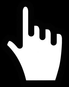klickende Hand